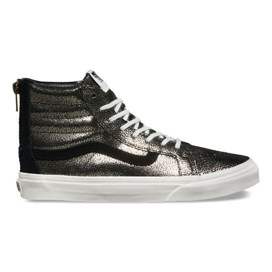 Gold Dots Sk8-Hi Slim Zip DX Shoes | Vans