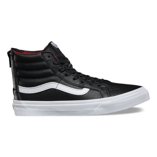 Plaid Flannel Sk8-Hi Slim Zip Shoes | Vans