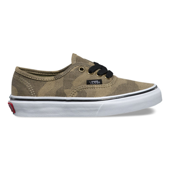 Kids Camo Jaquard Authentic Shoes | Vans