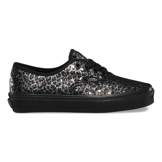 Kids Metallic Leopard Authentic Shoes | Vans
