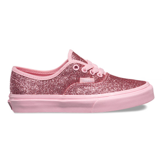 Kids Shimmer Authentic Shoes | Vans