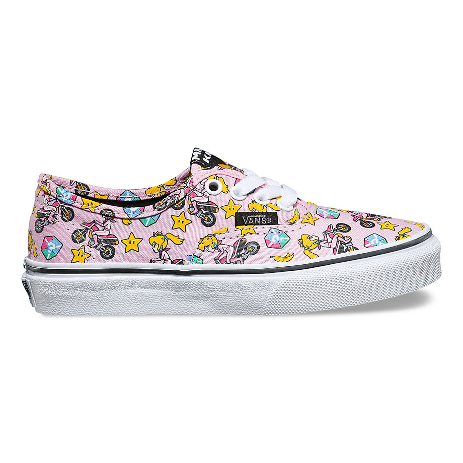 Chaussures Junior Authentic Nintendo (4-8 Ans) ((nintendo) Princess Peach/motorcycle) Enfant , Taille 28 - Vans - Modalova