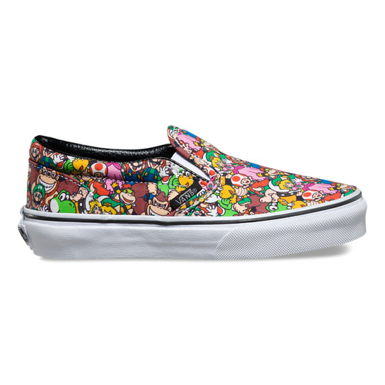 Kids Nintendo Classic Slip-On Shoes (4-8 years) | Vans