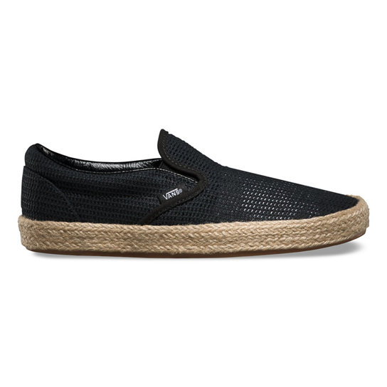 Mesh Classic Slip-On Espadrille Shoes | Vans