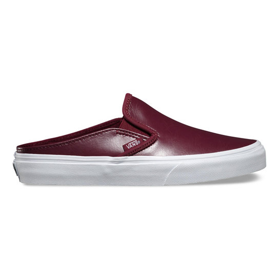 Leather Classic Slip-On Mule Shoes | Vans