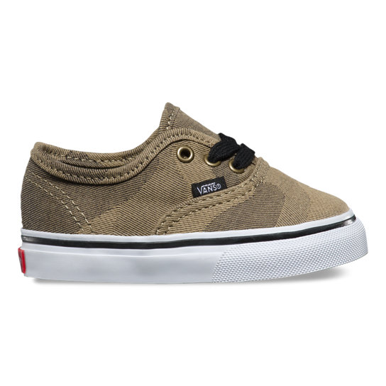 Camo Jaquard Authentic Peuterschoenen | Vans