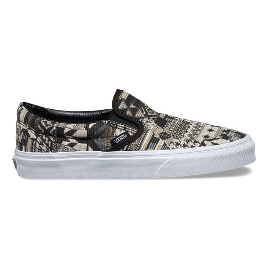 Italian Weave Classic Slip-On Shoes | Vans
