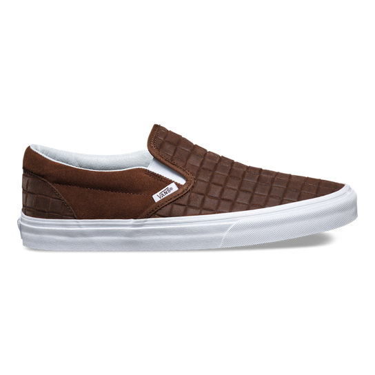 Suede Checkers Classic Slip-On Shoes | Vans