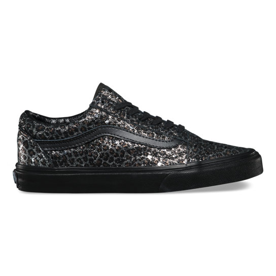 Metallic Leopard Old Skool Shoes | Vans