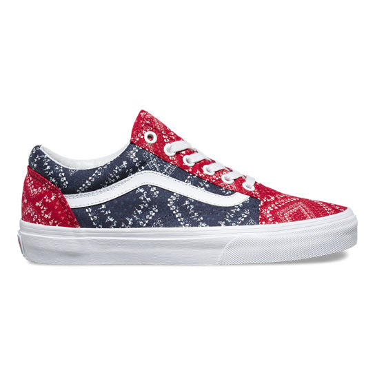Ditsy Bandana Old Skool Shoes | Vans