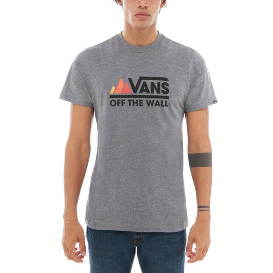 Vans Peaks Camp Tee - Grey