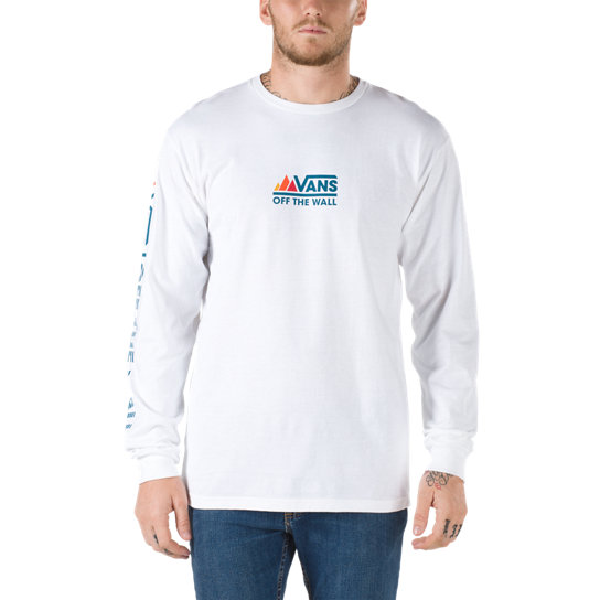 Peaks Camp Long Sleeve T-Shirt | Vans