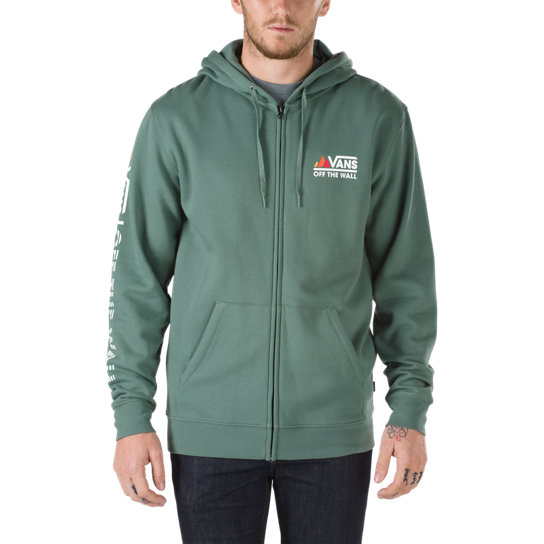 Vans Peaks Camp Zip-Hood Fleece-Sweatshirt | Vans