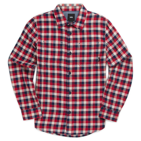 Kids Alameda II Check Shirt | Vans