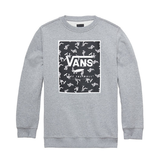 Kids Print Box Crew T-shirt | Vans