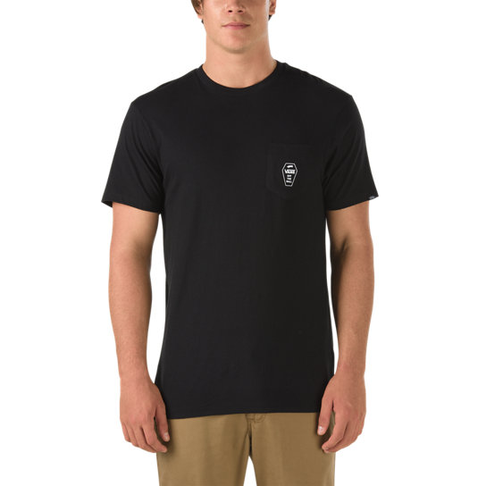 Coffin Lockup Pocket T-Shirt | Vans