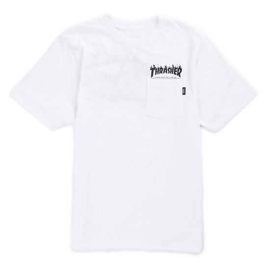 Kinder Vans X Thrasher Pocket T-Shirt (8-14+ Jahre) | Vans