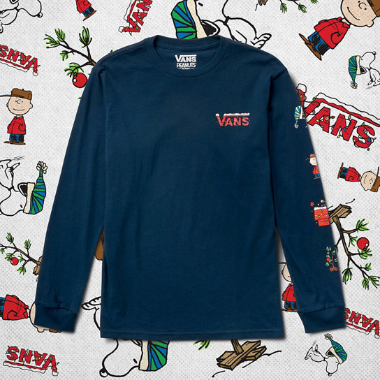 T-shirt manches longues Junior Peanuts Holiday (8-14+ ans) | Vans
