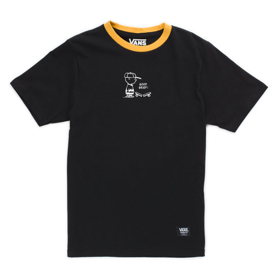 Kids Vans X Peanuts Charlie Brown Ringer T-Shirt (8-14+ years) | Vans