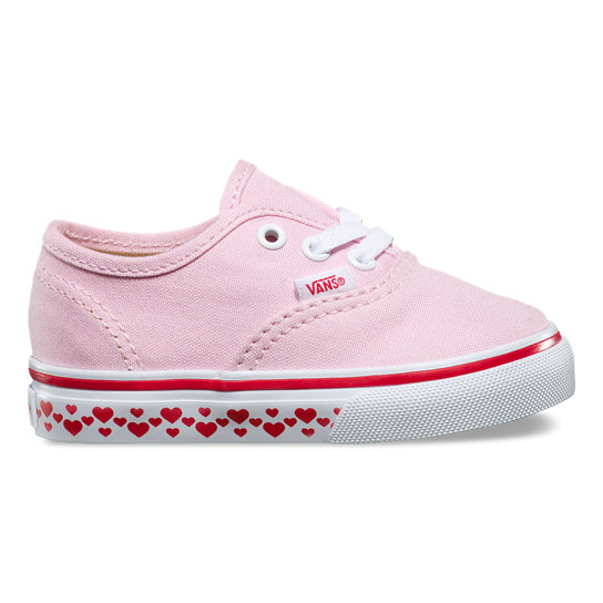 Toddler Hearts Tape Authentic Shoes | Vans