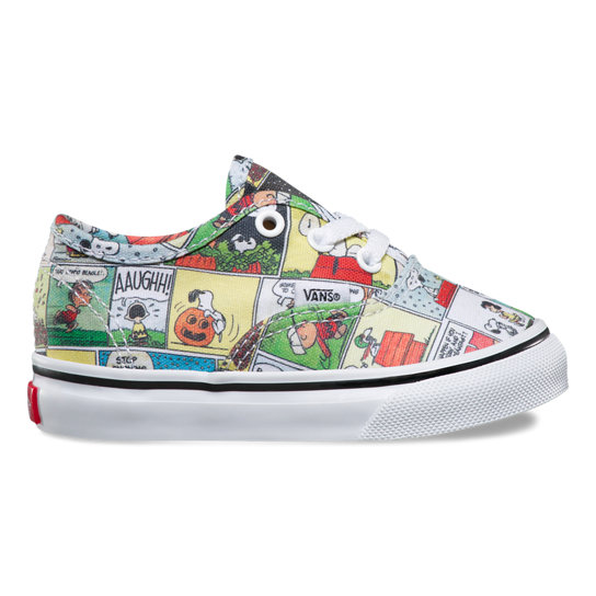 Toddler Vans X Peanuts Authentic Shoes | Vans