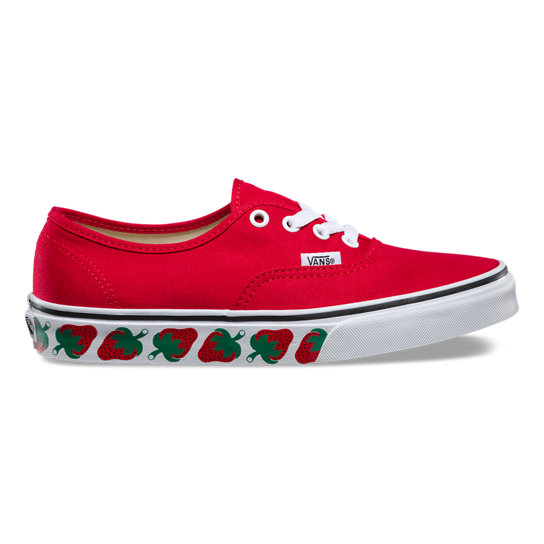 Strawberry Tape Authentic Shoes | Vans