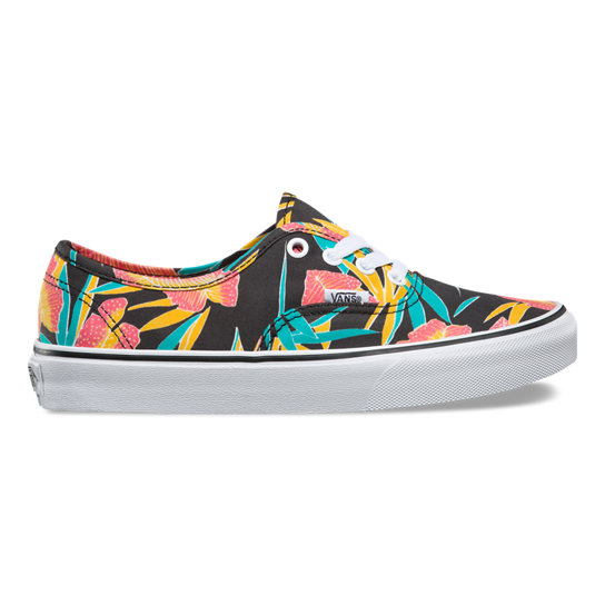 Tropical Leaves Authentic Schoenen | Vans