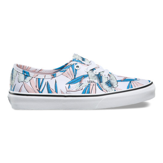 Tropical Leaves Authentic Shoes | Vans