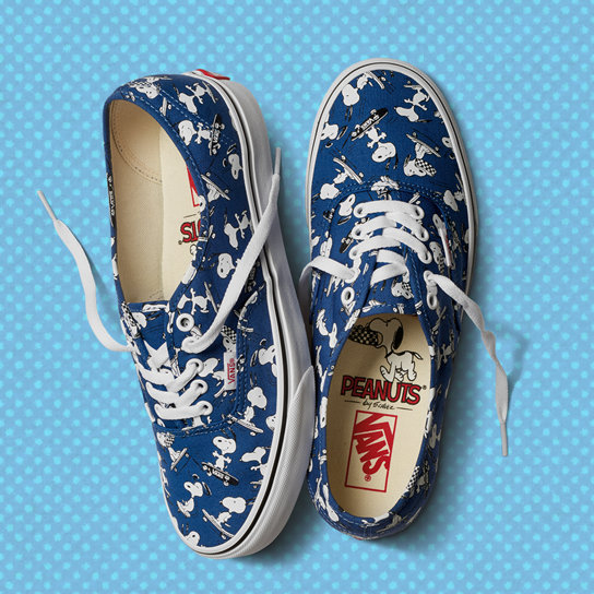 6c1a9acaf422 Vans X Peanuts Authentic Shoes