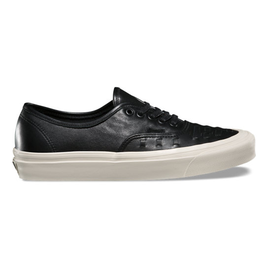 Leather Authentic Weave Shoes | Vans