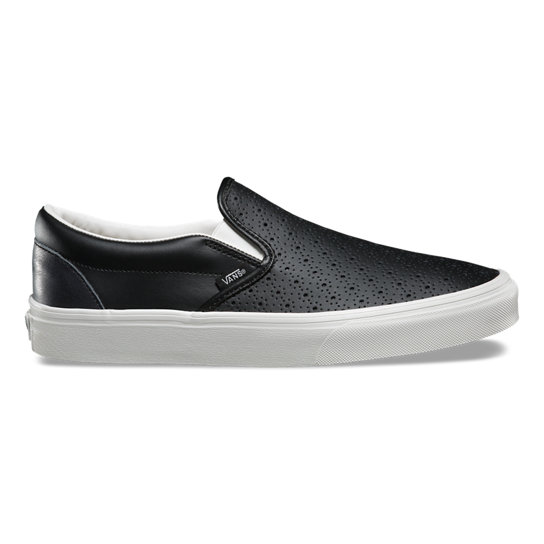 chaussures cuir perf classic slip on vans boutique officielle. Black Bedroom Furniture Sets. Home Design Ideas