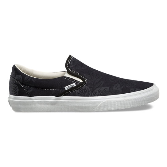 Floral Jacquard Classic Slip-On Shoes | Vans