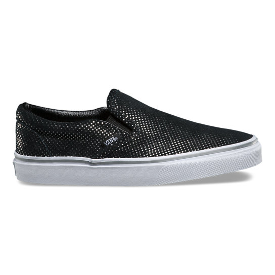 Metallic Dots Classic Slip-On Shoes | Vans