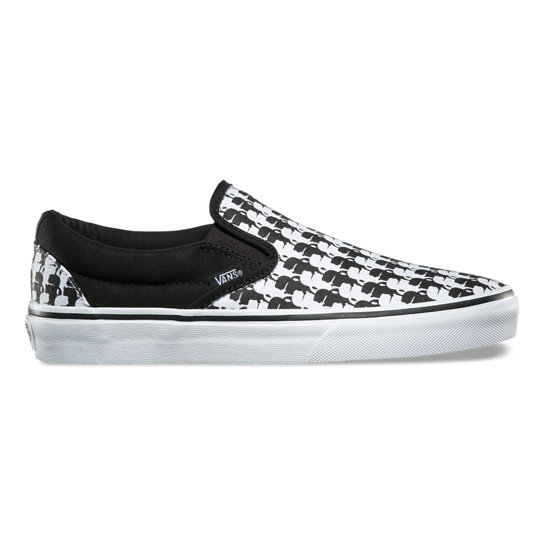 Vans X KarL Lagerfeld Classic Slip-On Shoes | Vans