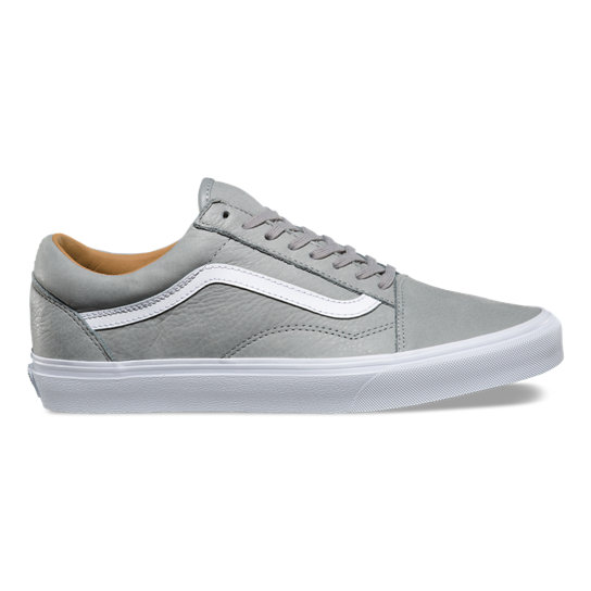 a3195e2855 Premium Leather Old Skool Shoes