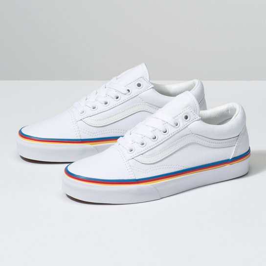 Rainbow Fox Old Skool Shoes | Vans