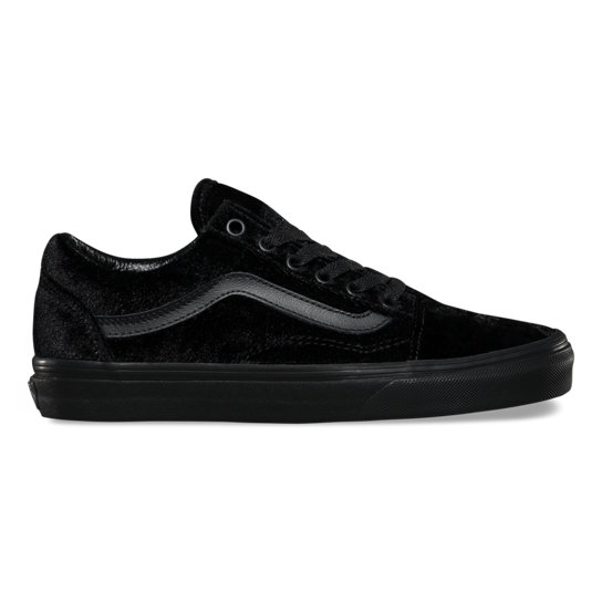 Velvet Old Skool Shoes | Vans