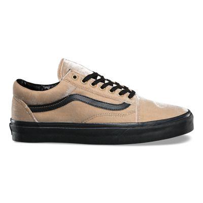 Gelb Samt Skool Vans Old Schuhe watq56x6