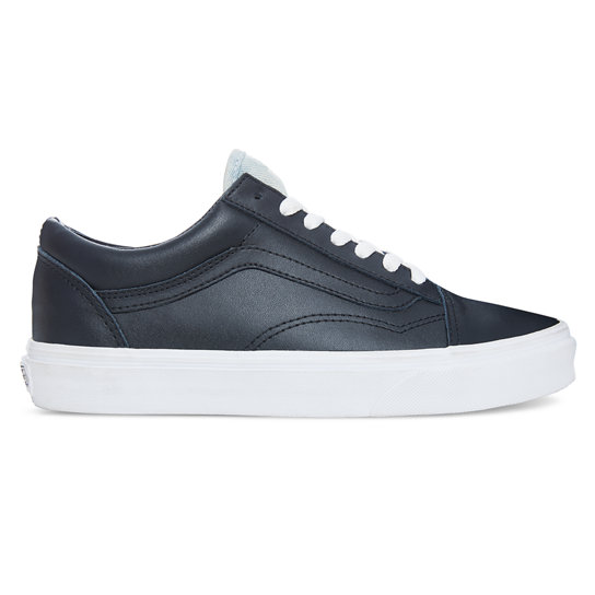 Leather Denim Old Skool Shoes | Vans