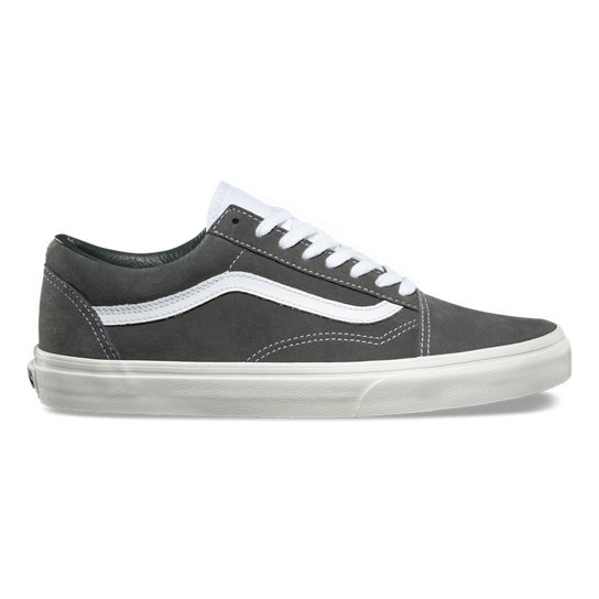 vans grises old school