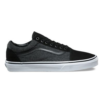 vans authentic cuir noir