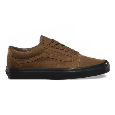 vans old skool semelle marron