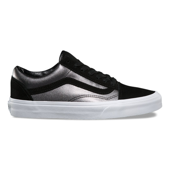 2-Tone Metallic Old Skool Shoes | Vans