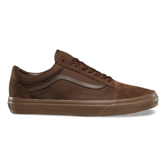 Canvas Old Skool Veloursleder-Schuhe | Vans
