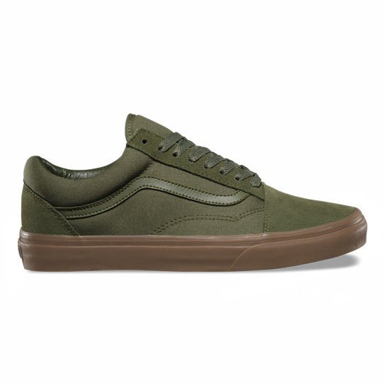Suede Canvas Old Skool Shoes | Vans