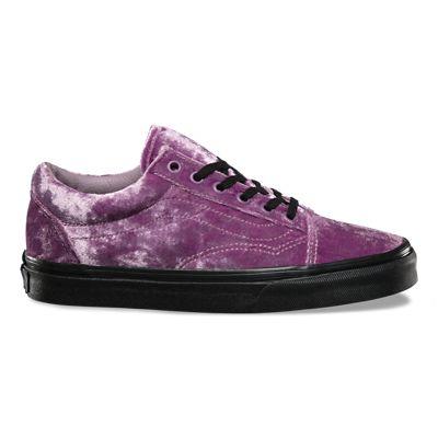 scarpe vans velluto donna