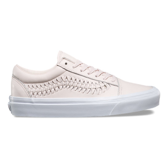 Leather Old Skool Weave Shoes | Vans