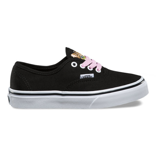 Kids Hidden Kitten Authentic Shoes | Vans