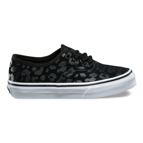 Kids Leopard Suede Authentic Shoes | Vans