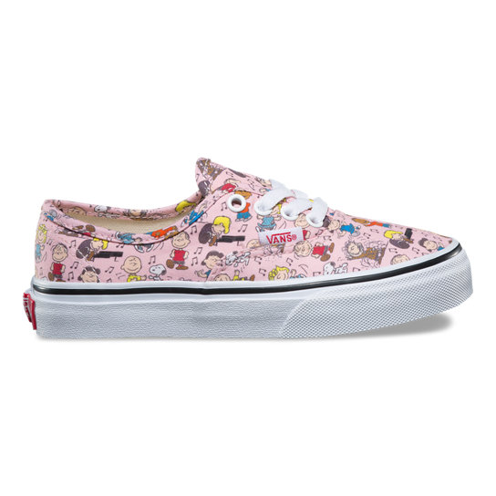 Kids Vans X Peanuts Authentic Shoes | Vans